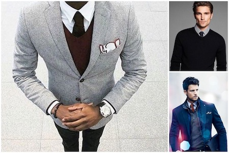 Porter Une Cravate Avec Un Pull