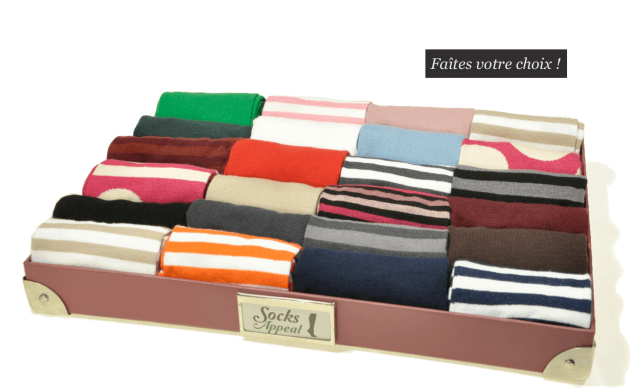 socks appeal marque chaussette