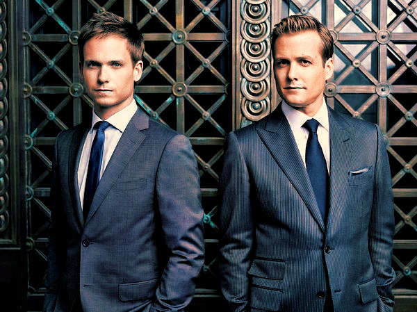 suits - serie tv - costume harvey mike