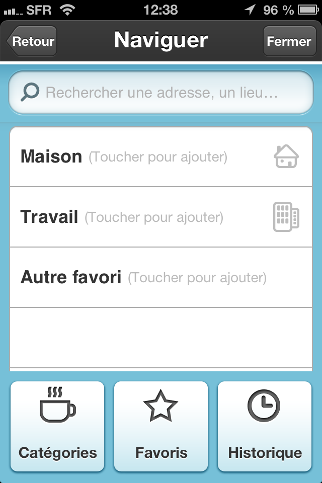 waze menu GPS gratuit iphone android radar