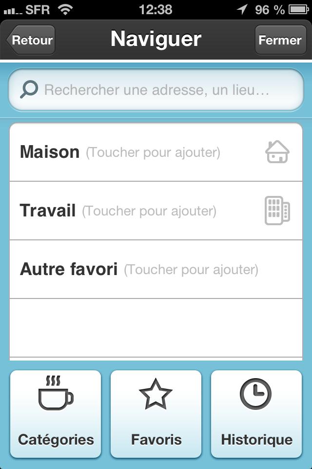 waze menu GPS gratuit iphone android radar