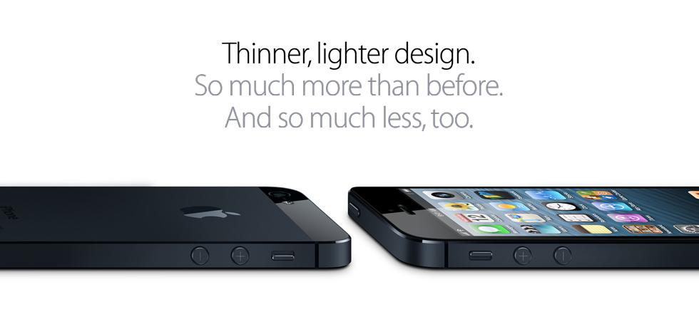 le nouveau iphone 5 comparé au 4