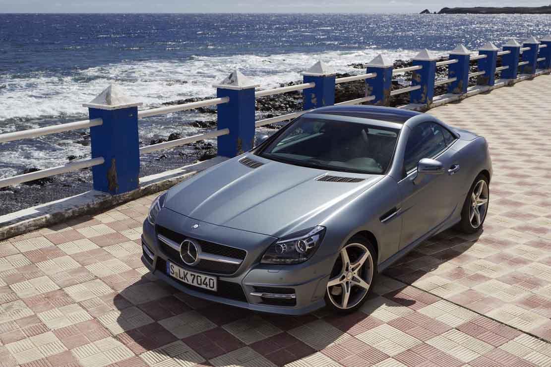 Mercedes-Benz SLK classe C, une magnifique automobile