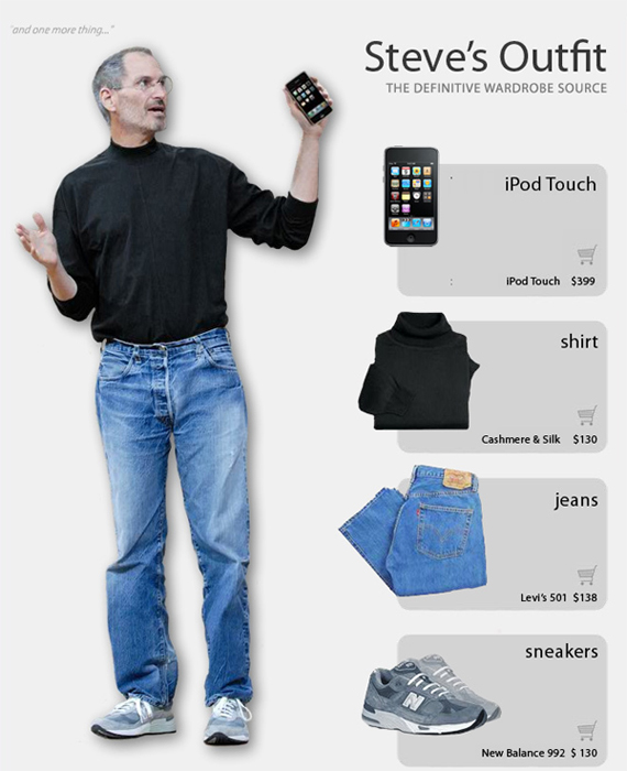 steve jobs apple le style geek