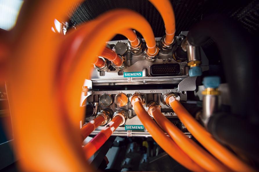exagon moteur électrique Automobile de luxe
