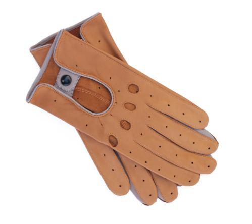 gants treville sable en cuir d'agneau - 160€