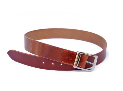 ceinture cuir marron - 114€