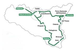 parcours targa florio 2012