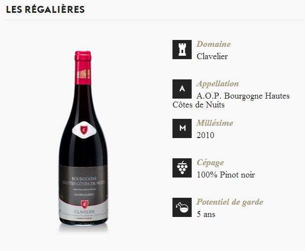 Box Dyonis - Vin - Clavelier