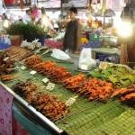 voyage thailande - marché bangkok