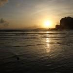 voyage thailande - coucher de soleil railey