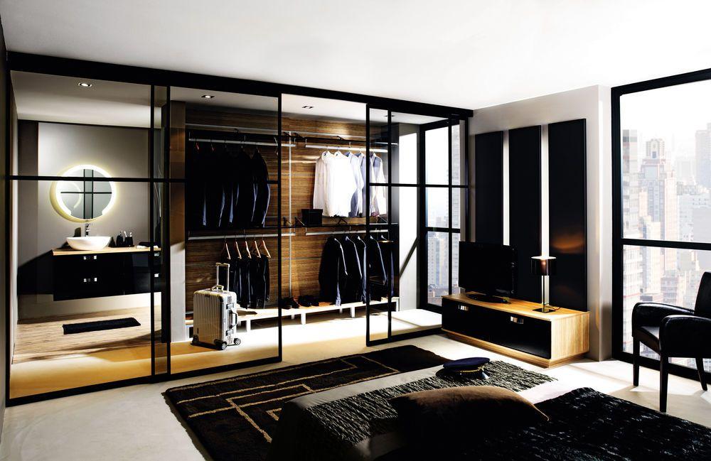 Plan Chambre Avec Salle De Bain Ouverte Et Dressing. Beautiful Top ...