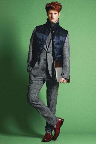 Dirk Bikkemberg costume tweed