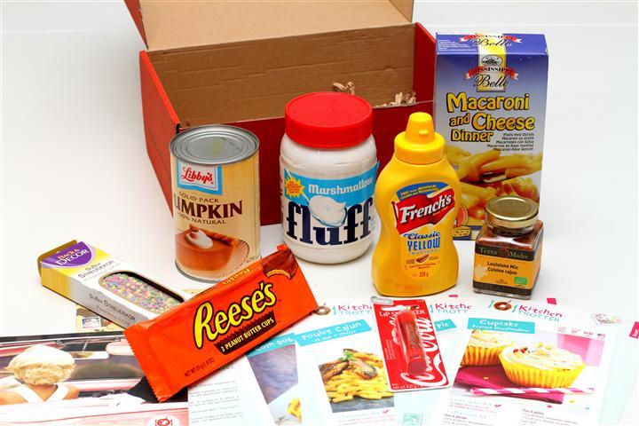 kitchen trotter - contenu box