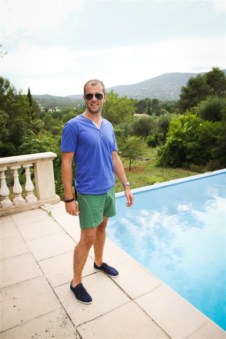 Blog homme test short de bain monsieur madone jamais for Short piscine homme