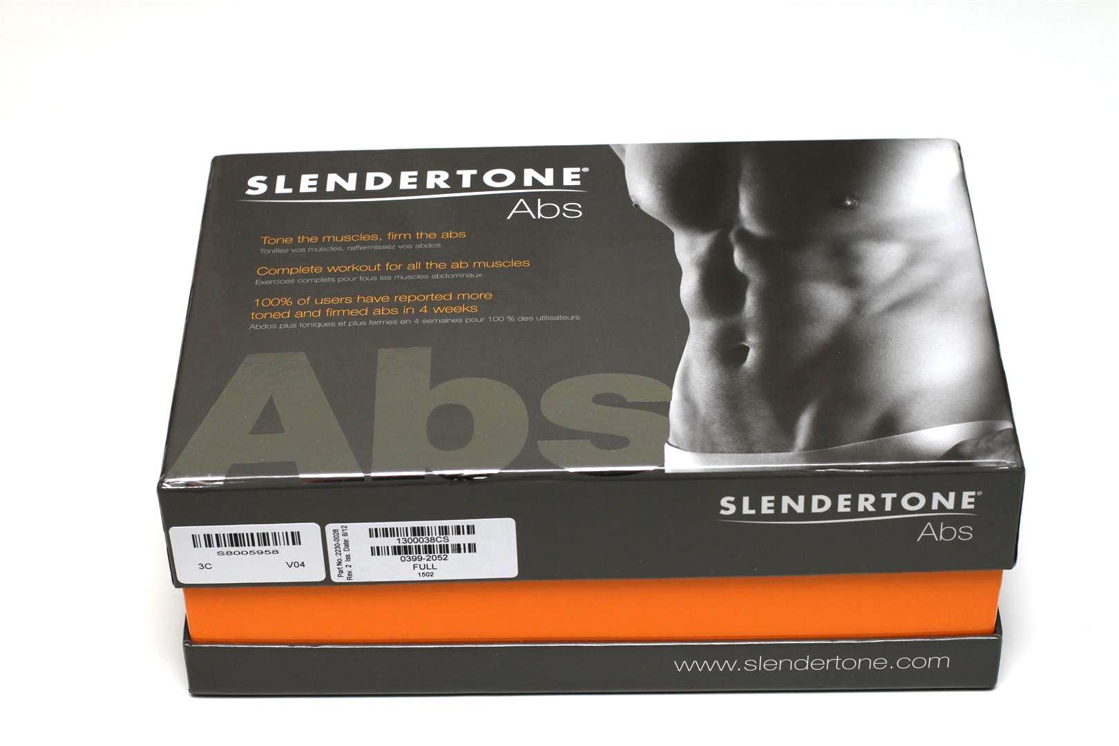 79ade99fa7b3 ... la Slendertone Abs pour Homme, ceinture abdominale fonctionnant par  électro-stimulation. slenderstone - abs test