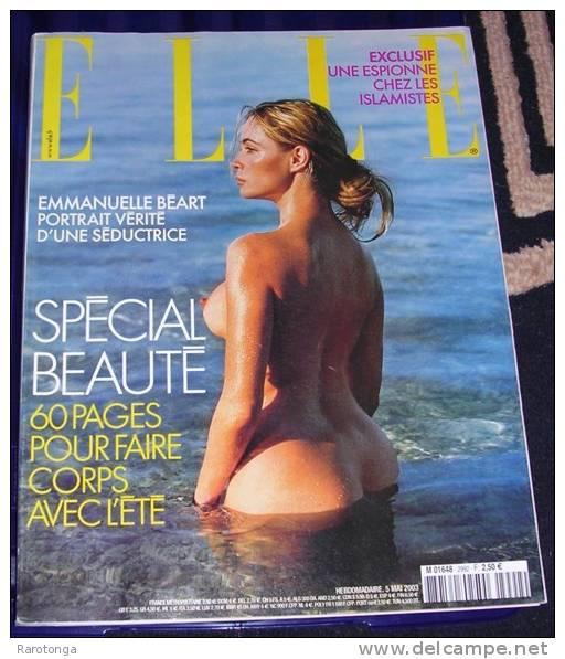 Emmanuelle Béart nue elle