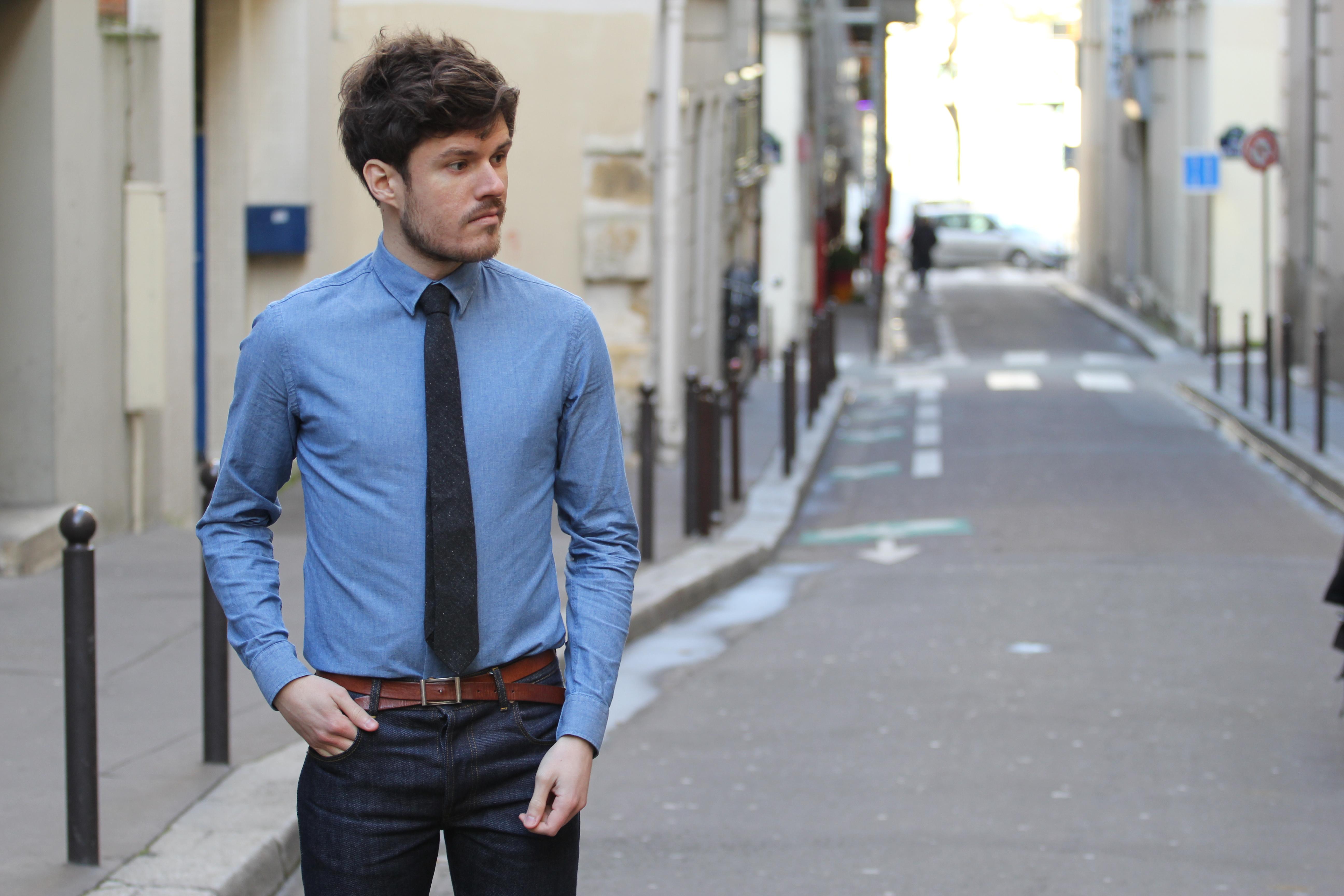 chemise bonnegueule florian