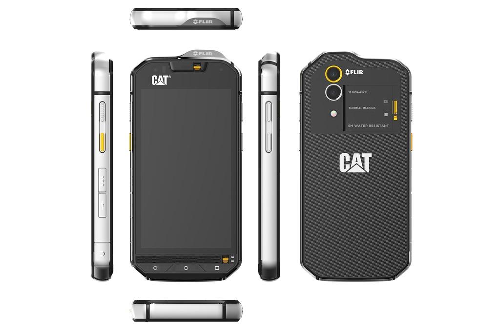 CAT-S60-aanzichten