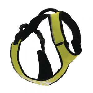 Harnais-randonnée-jogging-CaniSport-Vert-Taille-Médium-blanc