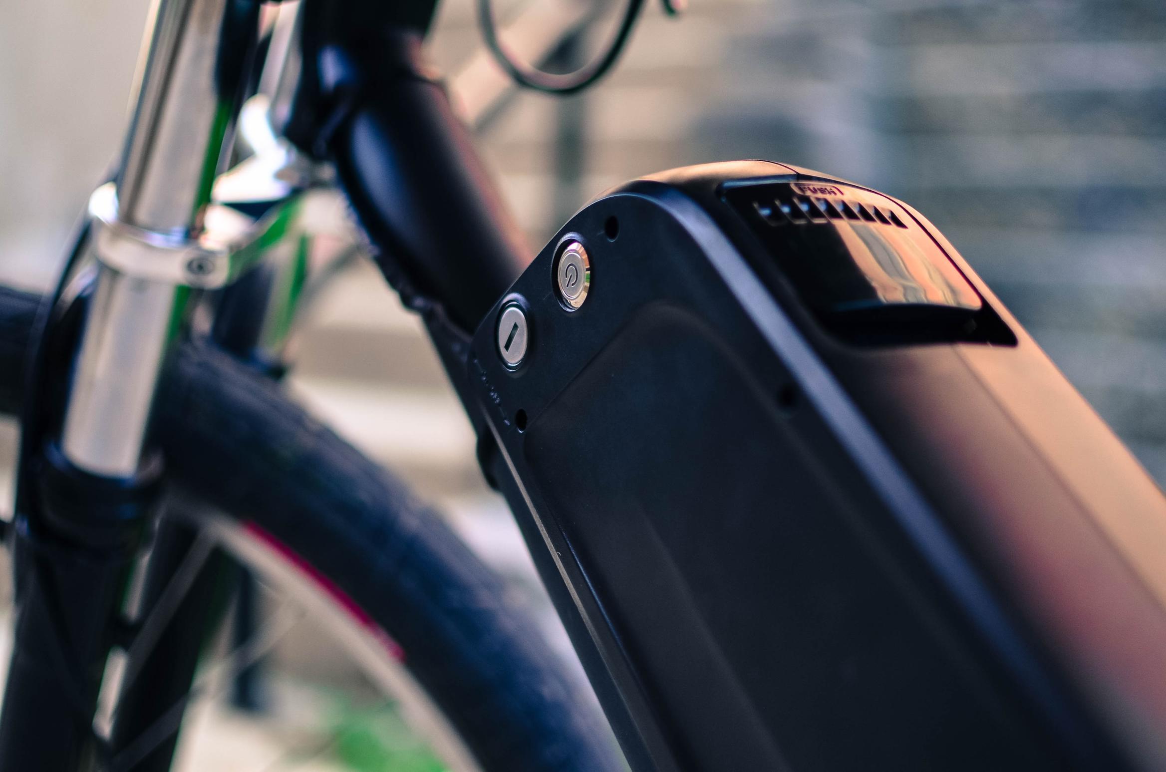 vélo électrique tempus batterie