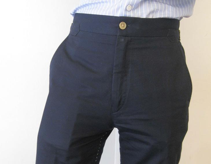 poches pantalon pleines