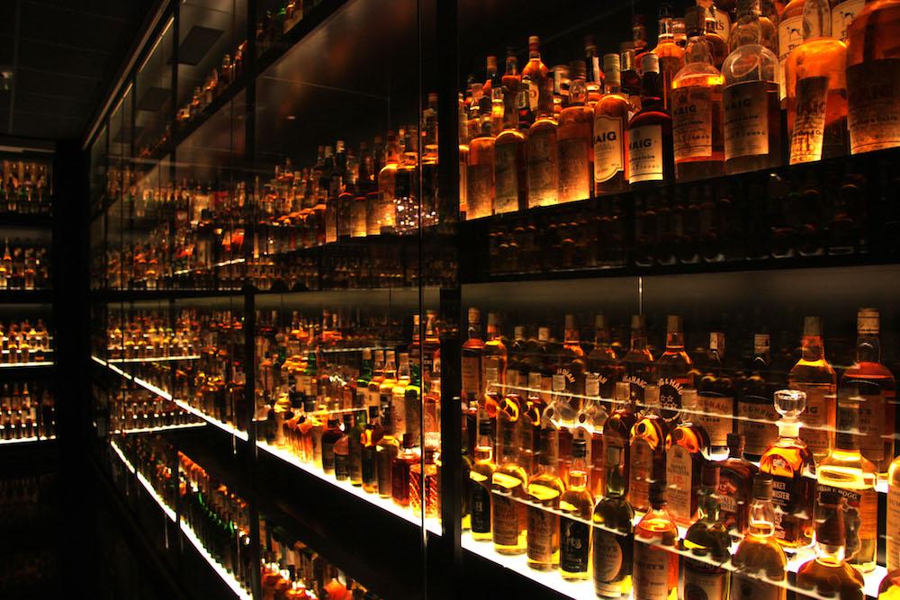 les familles de whisky