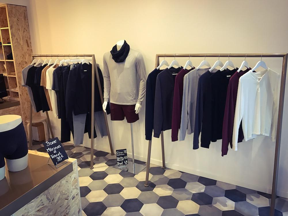 collection de vêtements techniques seagale