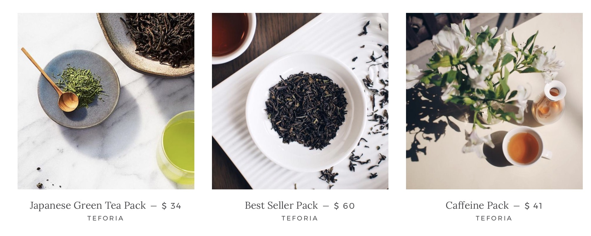 Teforia Leaf thé