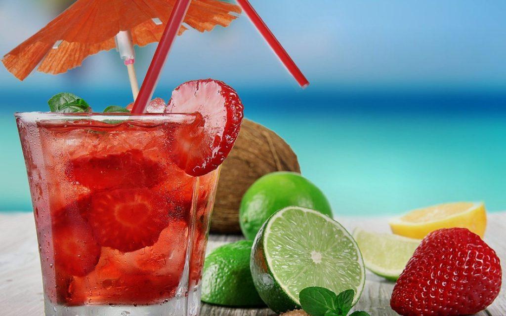 Cocktail fruité