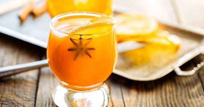 Punch à l'orange