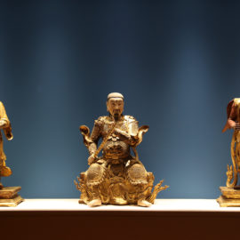 Figurines bouddhiques