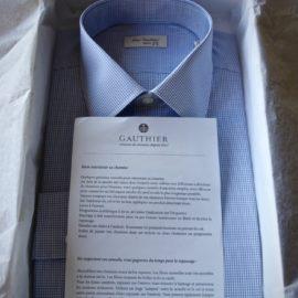 chemise francaise packaging