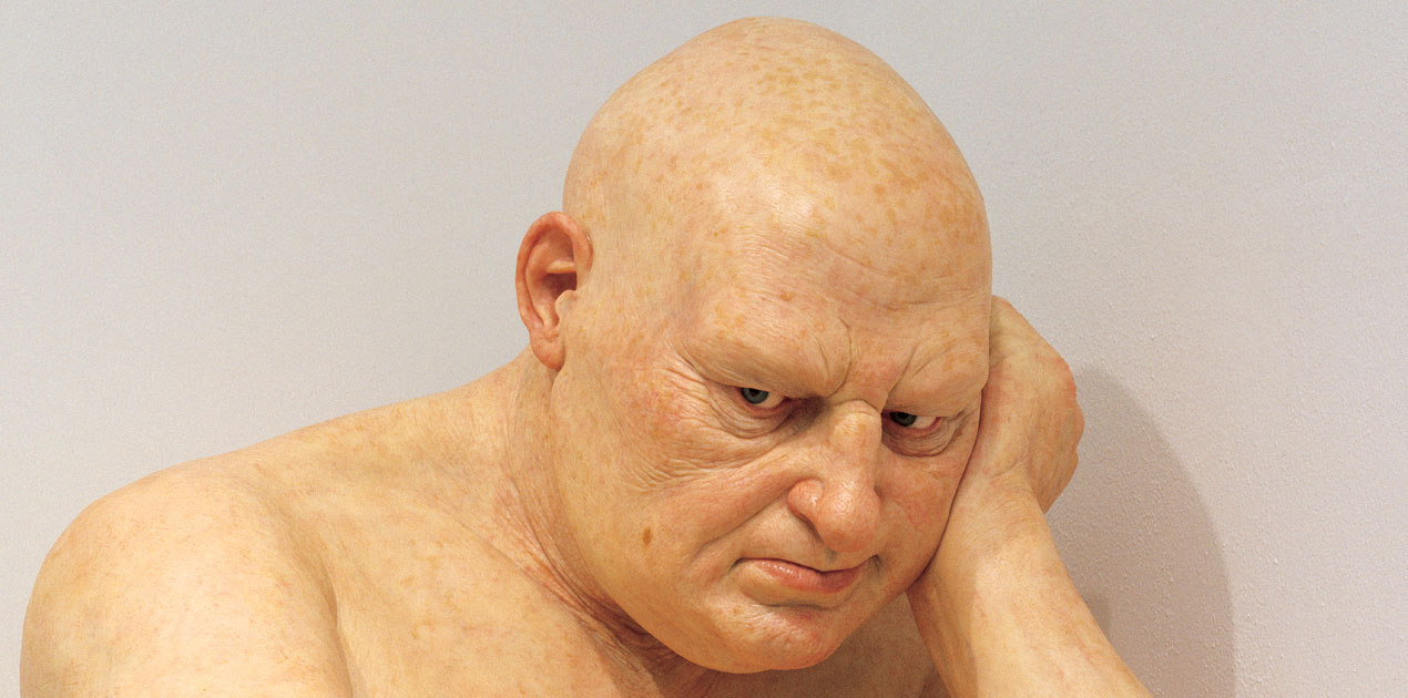 Ron Mueck big man