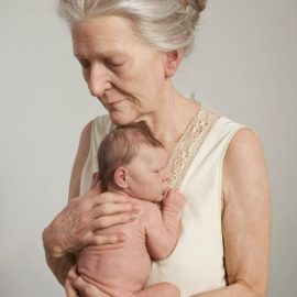ron mueck old mother