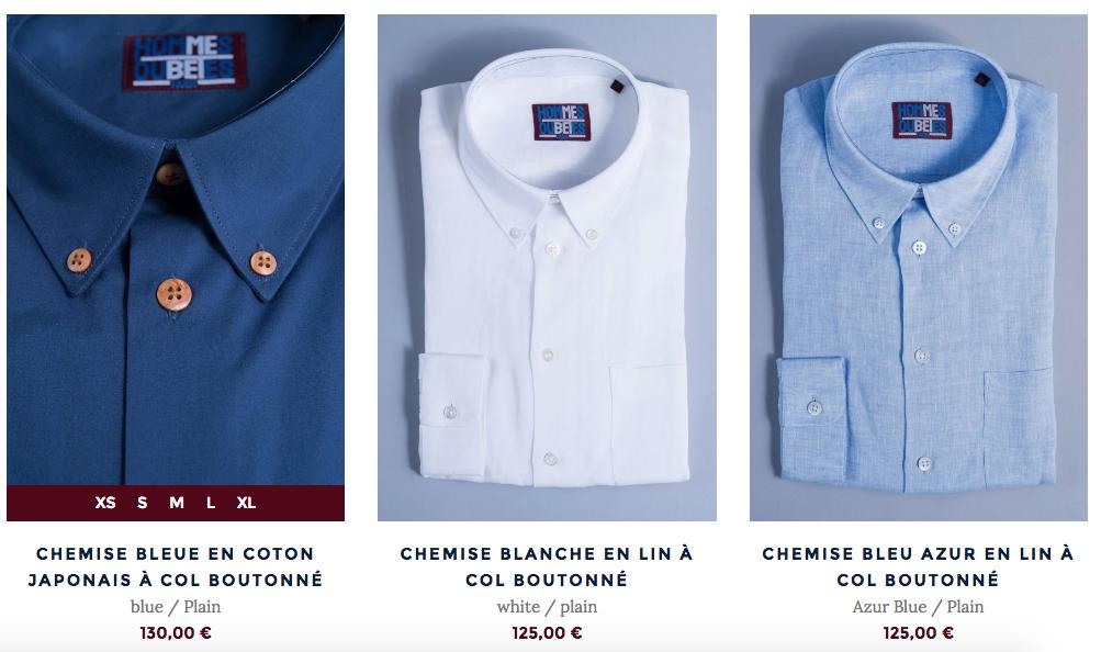 Hommes ou betes chemises