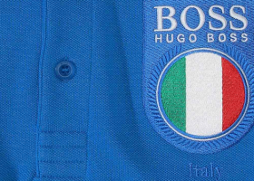 Hugo Boss sort les polos de foot.